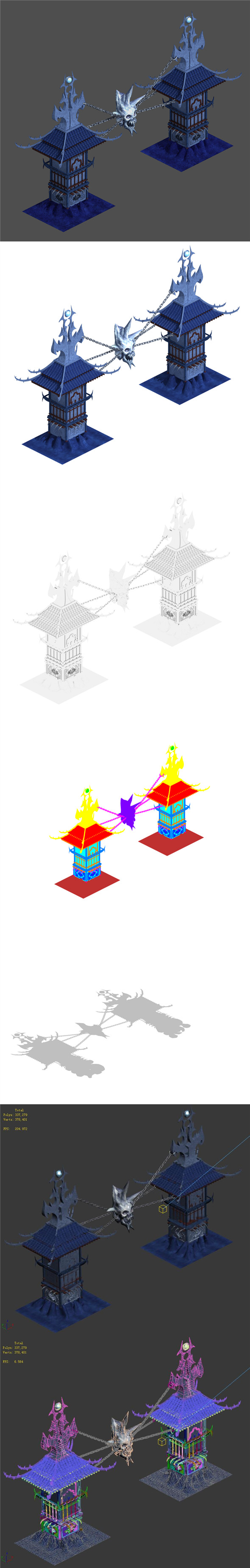 Magic are - gates - 3DOcean Item for Sale