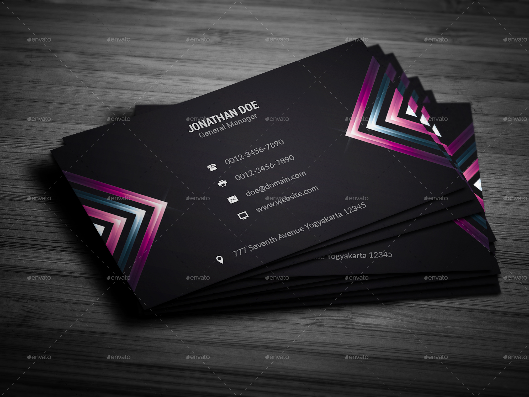 Charming Stylish Business Cards Gallery - Business Card Ideas ...