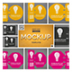 3D Wobblers Mockup - GraphicRiver Item for Sale