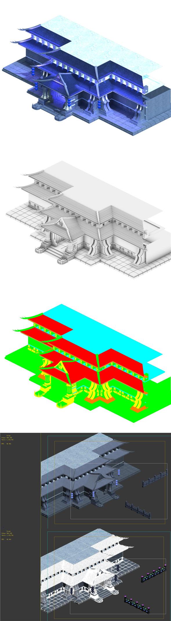 Magic - the main building - 3DOcean Item for Sale