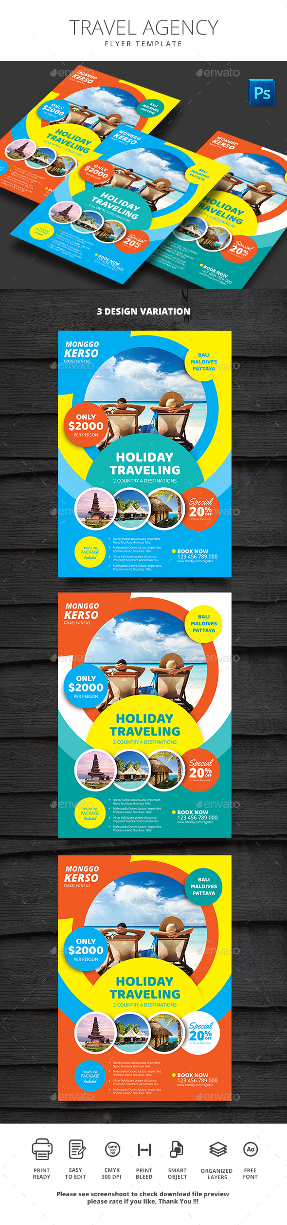 Travel Agency - Holidays Events