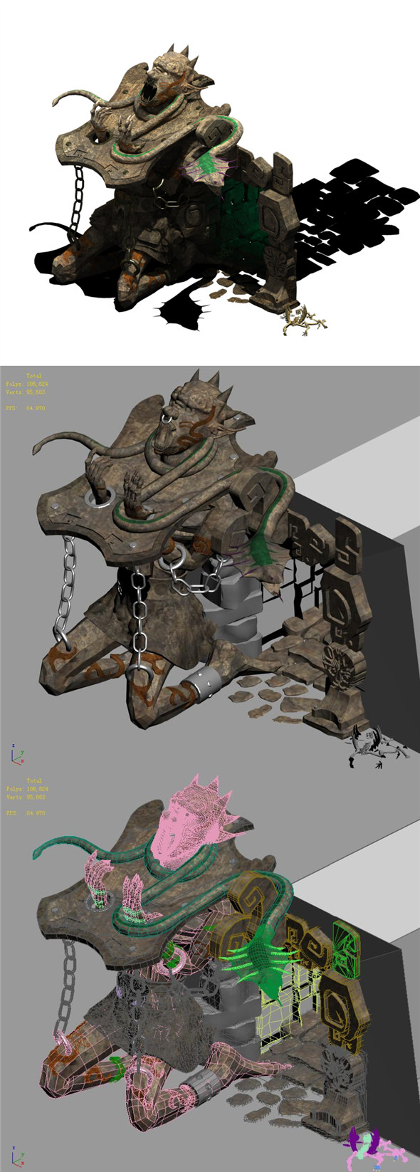 Devil Cave - Entrance - 3DOcean Item for Sale