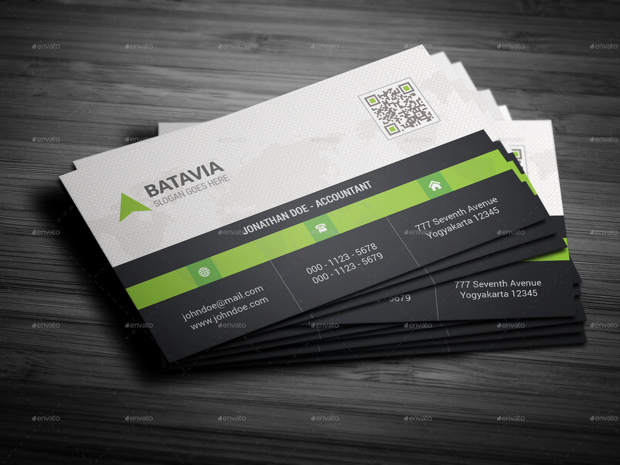 Business Card Bundle by batavia | GraphicRiver