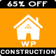 Construct - Construction Renovation Building Business WordPress Theme Nulled