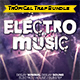 Electro Music Template Bundle - GraphicRiver Item for Sale