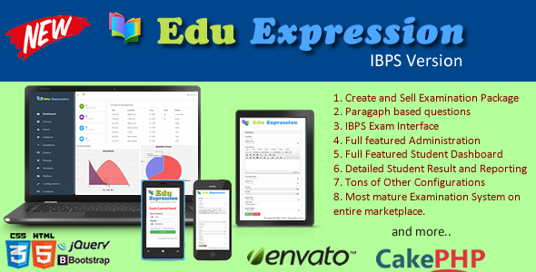 Online IBPS Examination System - CodeCanyon Item for Sale