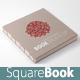 Handmade Square Book Mock-up - GraphicRiver Item for Sale