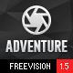 Adventure - Responsive Photography Theme Nulled