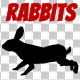 Rabbit Silhouettes Pack - VideoHive Item for Sale