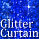 Glitter Curtain Blue - VideoHive Item for Sale