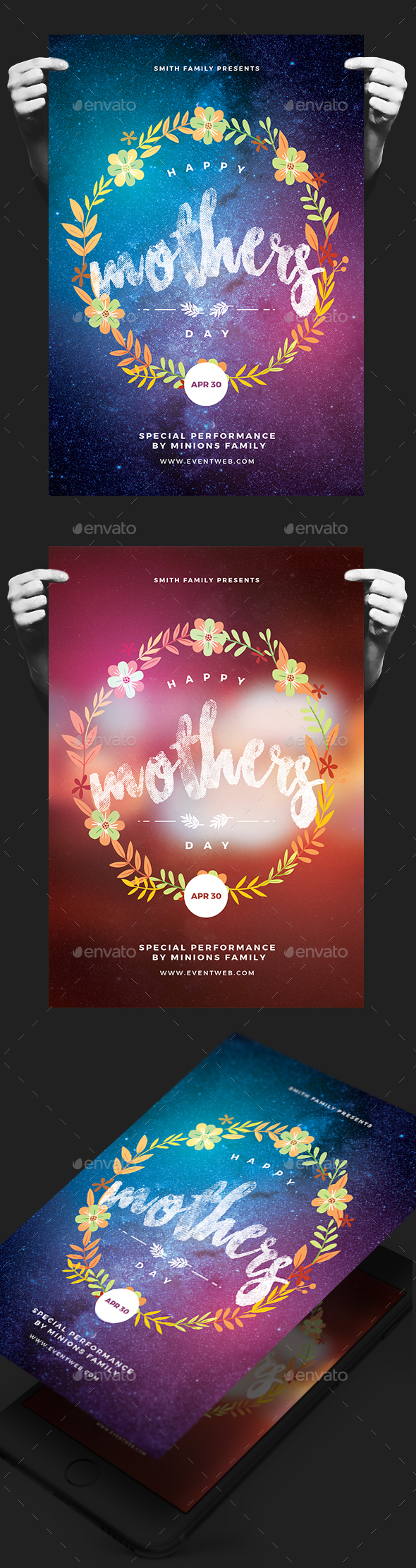 Happy Mother's Day Flyer - Events Flyers