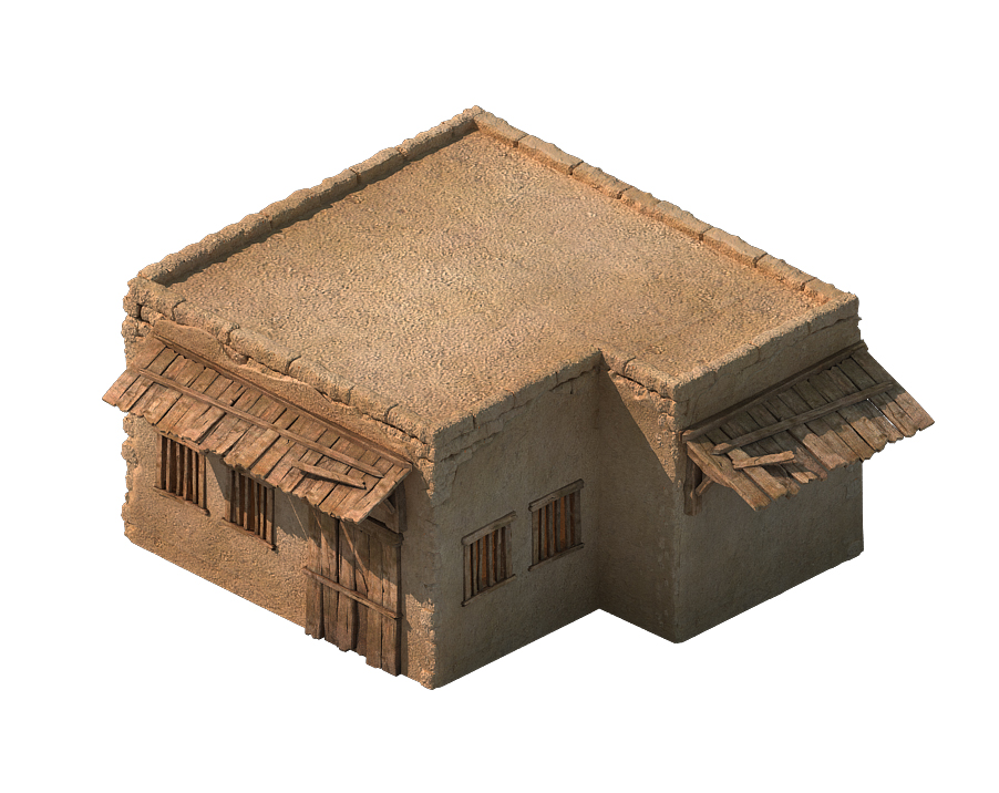 Desert Ancient Battlefield - House 05