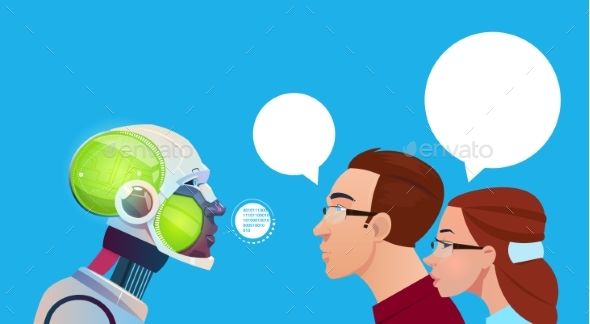 Artificial Intelligence People Communication - Technology Conceptual