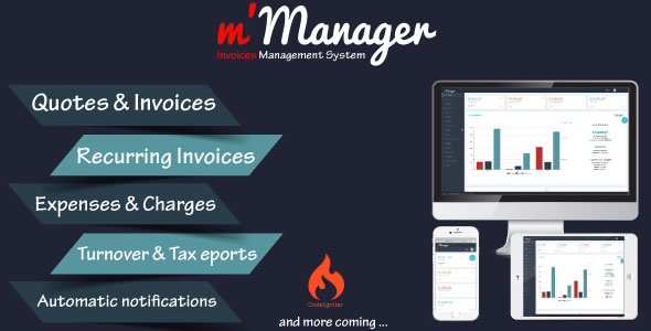 m'Manager - Invoices Management System - CodeCanyon Item for Sale