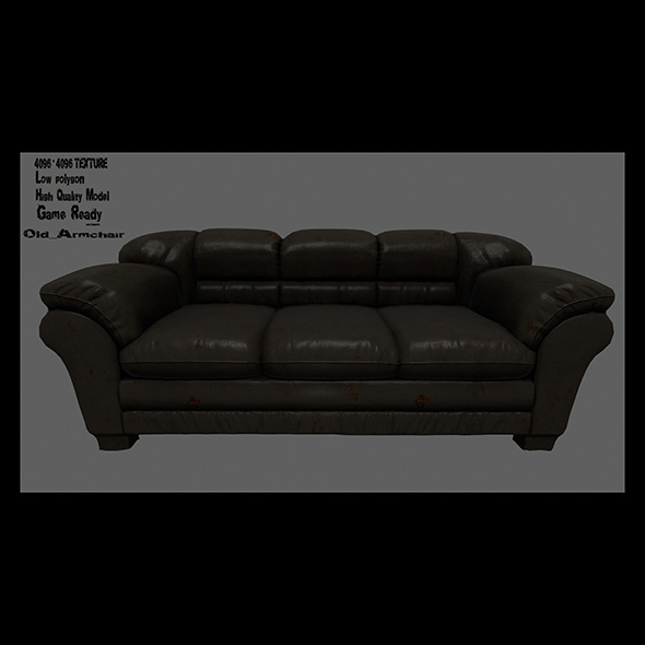 Armchair_5 - 3DOcean Item for Sale