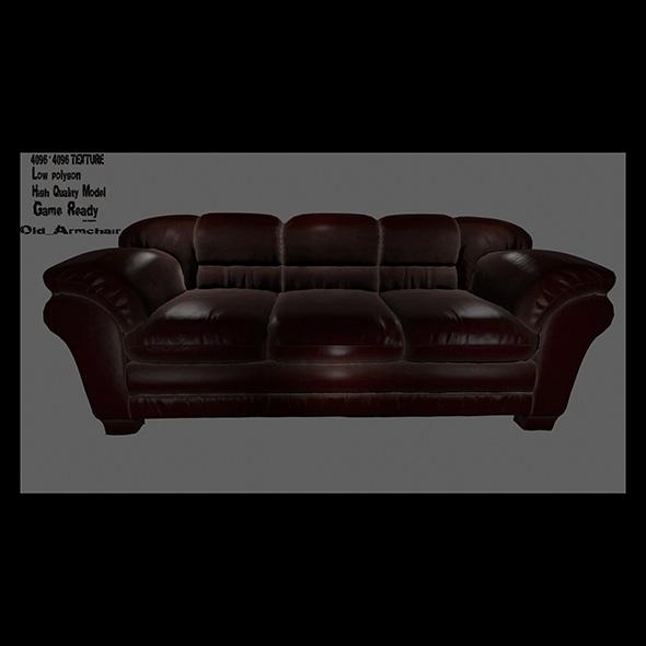 Armchair_7 - 3DOcean Item for Sale