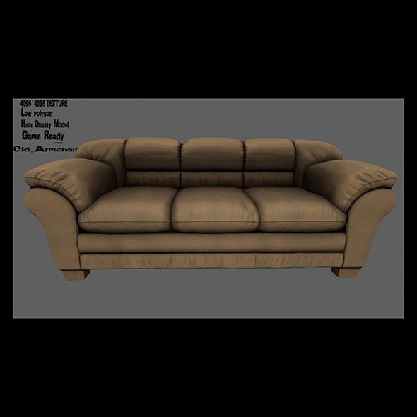 Armchair_13 - 3DOcean Item for Sale
