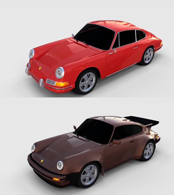 Porsche 911 Pack - 3DOcean Item for Sale