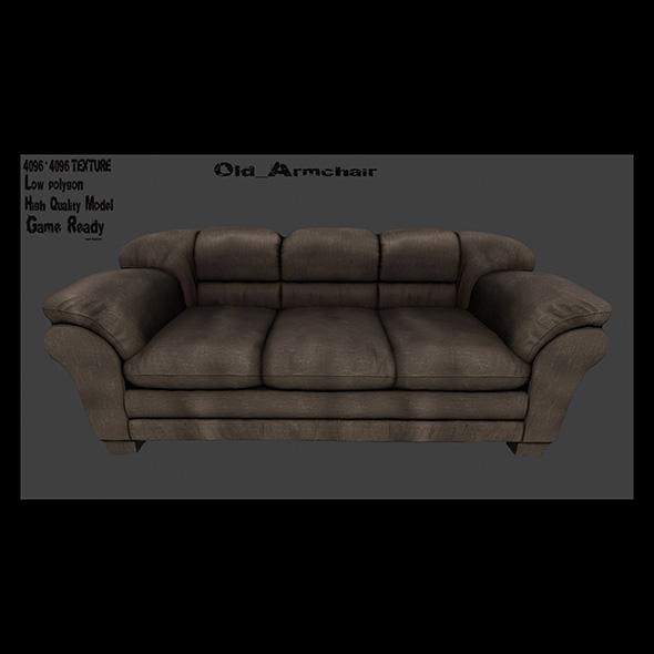 Armchair_16 - 3DOcean Item for Sale