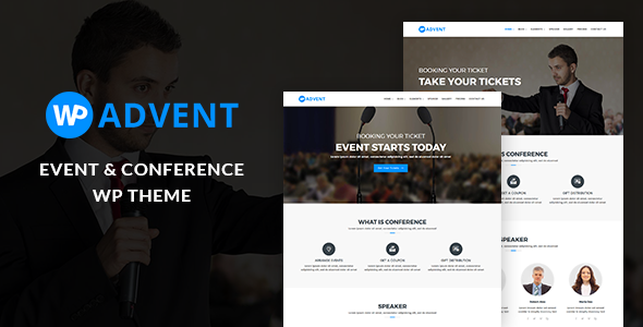WPadvent – Event and Conference WordPress Theme
