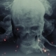 Animation Head Ghost Skull Smoke - VideoHive Item for Sale