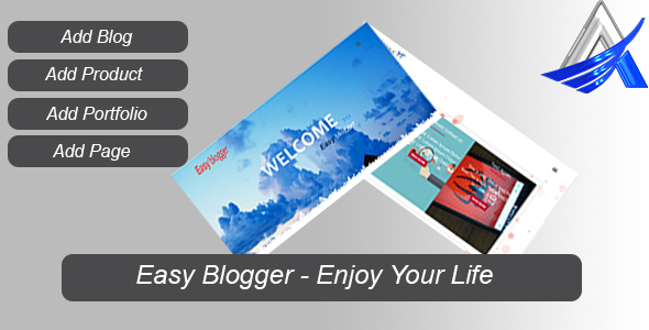 Easy Blogger - CodeCanyon Item for Sale