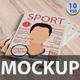 A4 Megazine Mockup - GraphicRiver Item for Sale