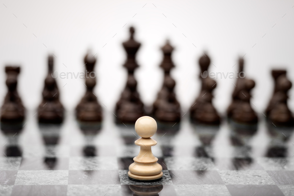The fearless warior. - Stock Photo - Images
