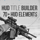 HUD Title Builder - VideoHive Item for Sale