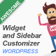Widget and Sidebar Customizer for Wordpress - CodeCanyon Item for Sale