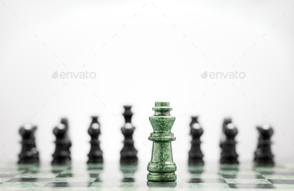The general before the battle field. - Stock Photo - Images