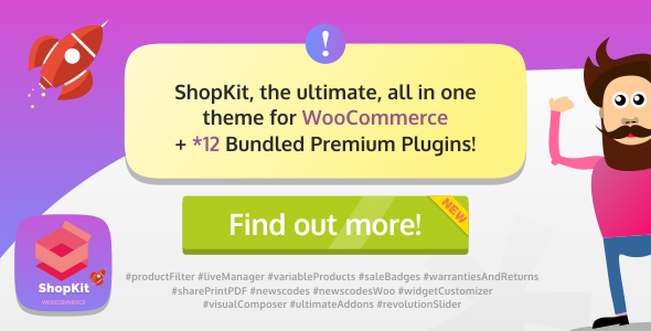 ShopKit - The WooCommerce Theme - WooCommerce eCommerce