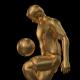 Golden Soccer Player Knee Kick - 2 Scene - VideoHive Item for Sale