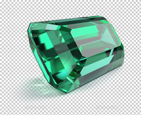Emerald - Objects 3D Renders