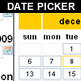 calendar - date picker - date field - CodeCanyon Item for Sale