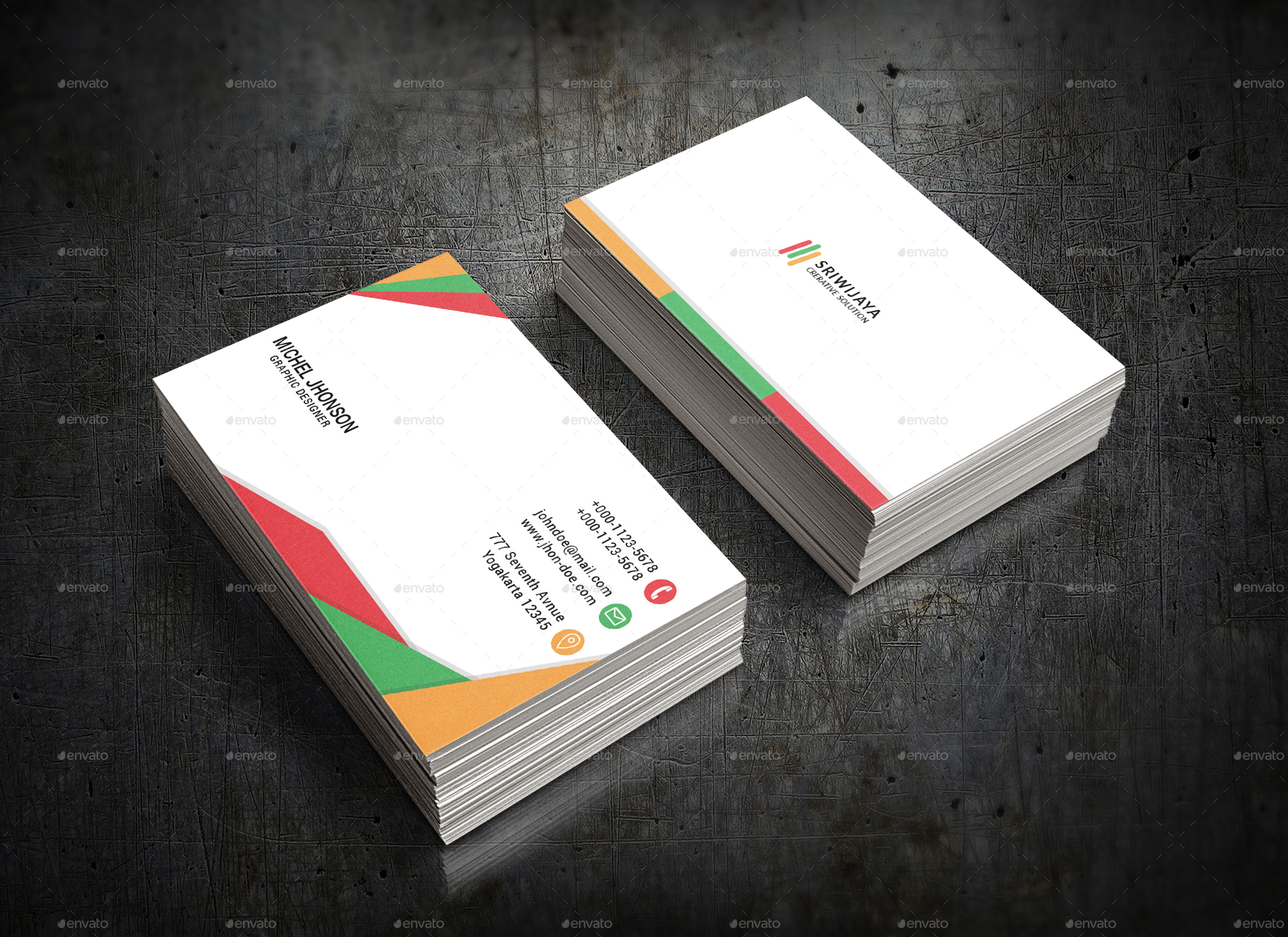 Corporate Business Card by SabbirMc