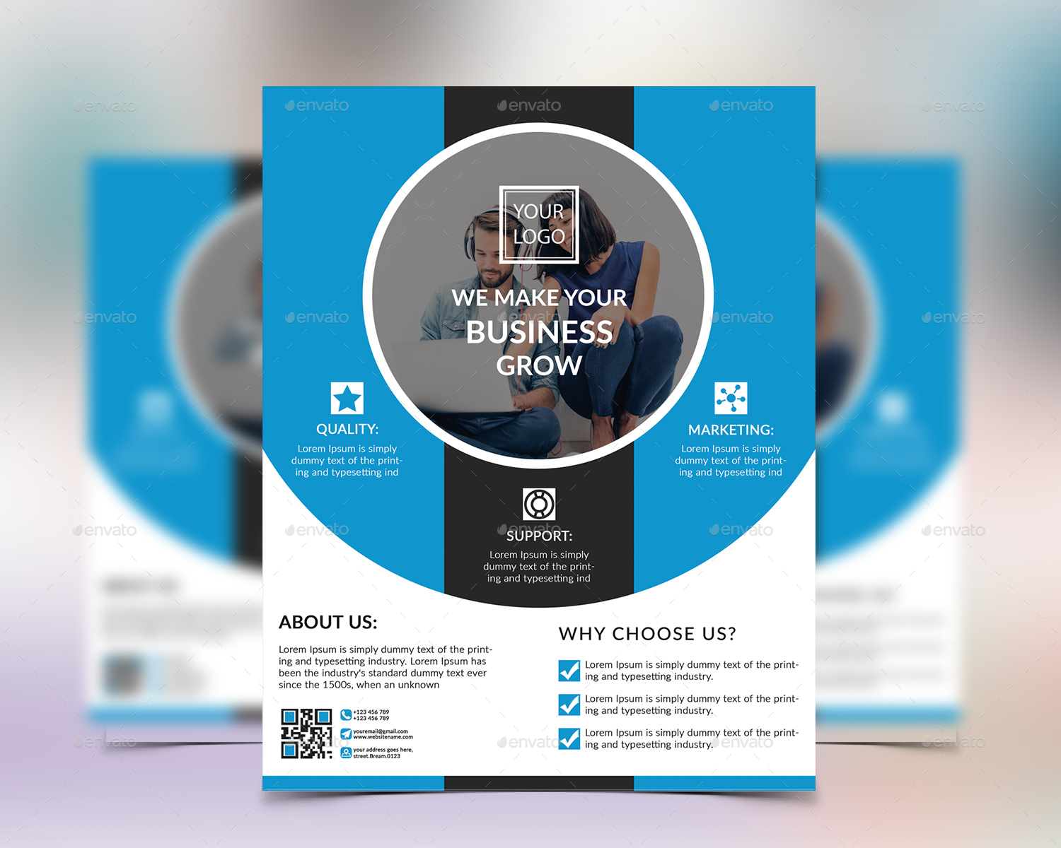 marketing cover letter%0A creative marketing flyers