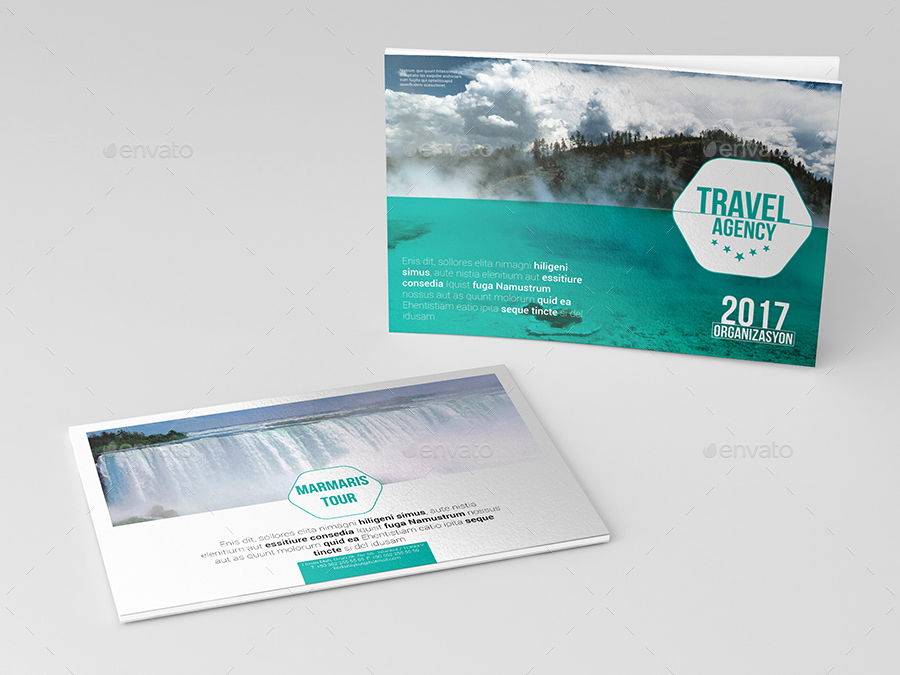 Travel Agency Catalog & Brochure by aykutkorkut | GraphicRiver