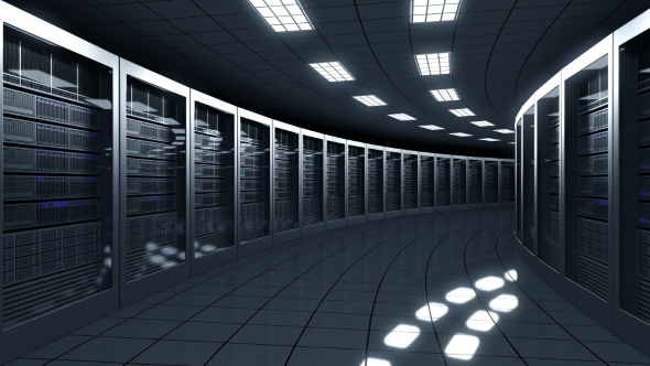 Modern Server Room by moovstock | VideoHive