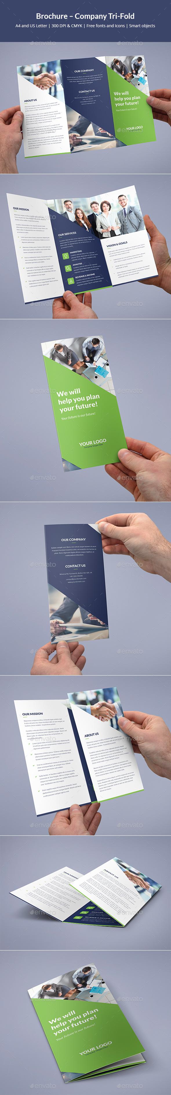 Brochure – Company Tri-Fold - Corporate Brochures