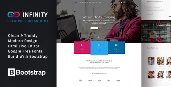 INFINITY – Multipurpose HTML Template
