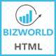 BIZWORLD - Multipurpose HTML5 Template Nulled