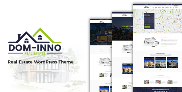 Image of Dominno Real Estate WordPress Theme