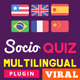 Multilingual plugin for SocioQuiz Viral Quiz script - CodeCanyon Item for Sale