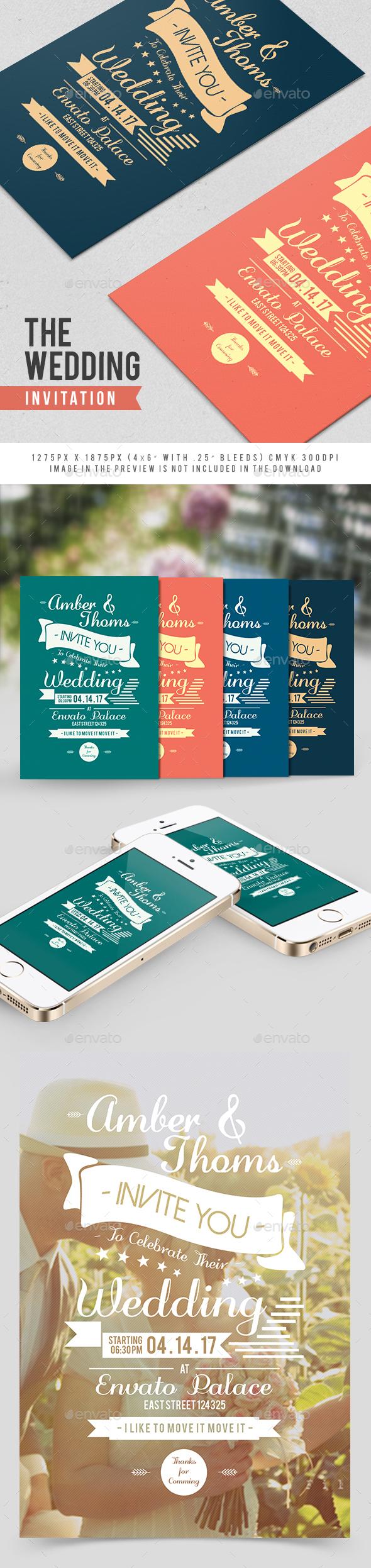The Wedding Invitation - Weddings Cards & Invites