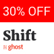 Shift - Responsive & Minimal Ghost Theme Nulled