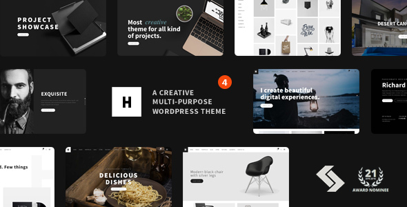 Heli - Creative Multi-Purpose WordPress Theme - Creative WordPress