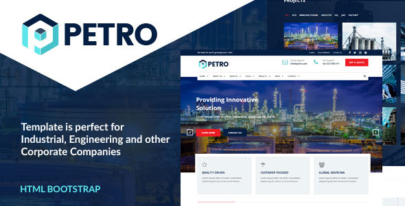 Petro – Industrial HTML Template