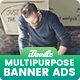 Multipurpose, Business, Corporate  Banners Ad