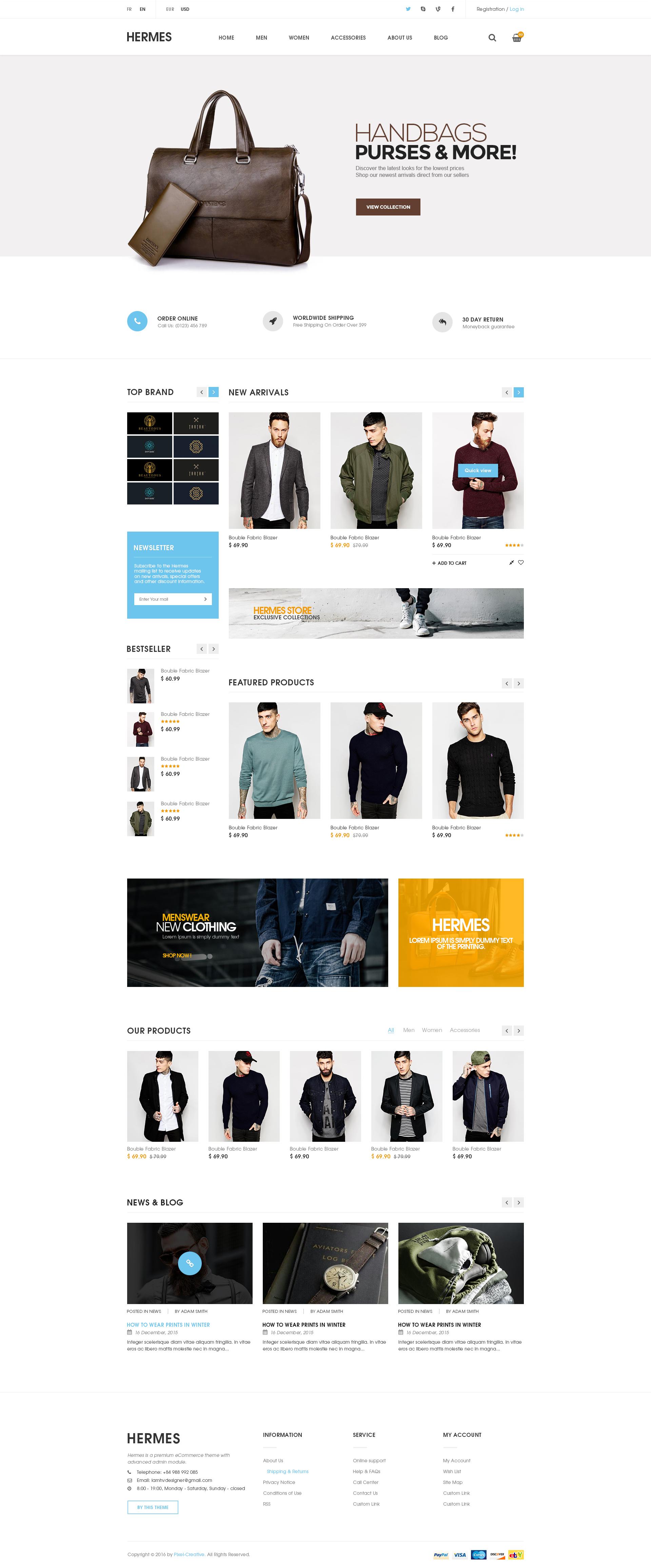 magento design templates